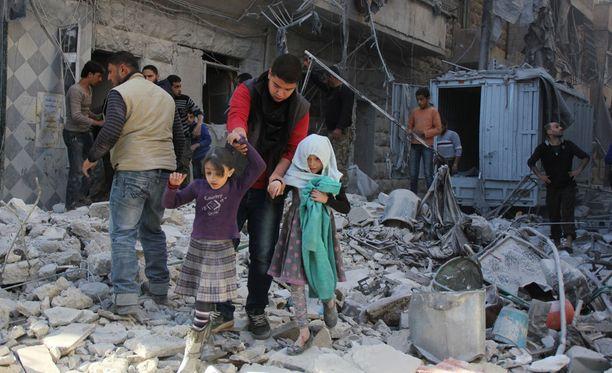 Kuva Alepposta marraskuulta.