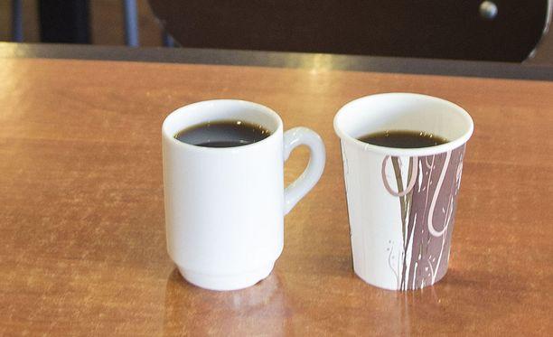 Yhdysvaltalaismedioiden mukaan Kaliforniassa kahvituotteisiin pitää laittaa varoitukset mahdollisesta syöpäriskistä. Kuvituskuva