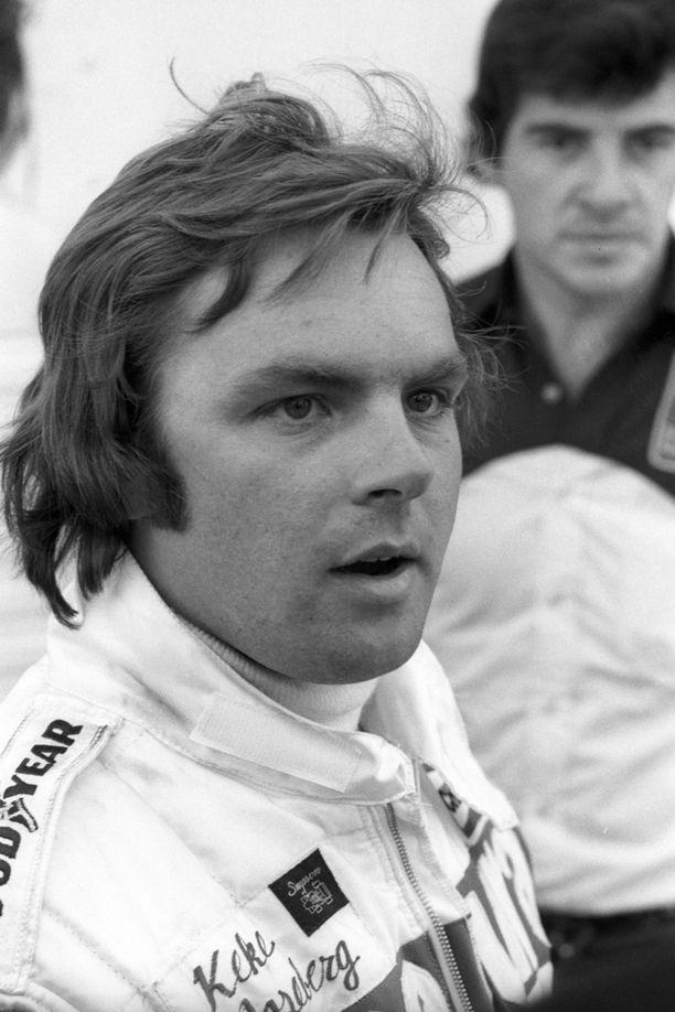 Keke debytoi F1:ssä vuonna 1978, jolloin hänellä ei vielä ollut sittemmin tutuksi tulleita viiksiä.