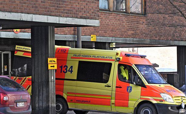 Ambulanssi tilataan joskus erikoisista syistä.