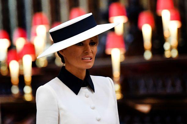 Melania Trump Westminster Abbeyssa.