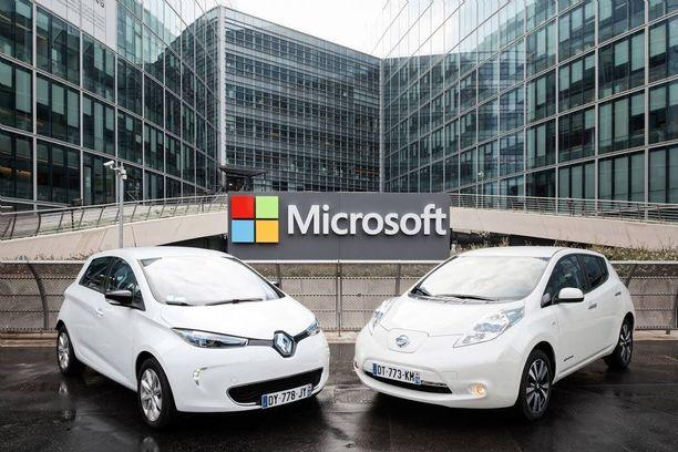 Renault-Nissan -allianssi lähti samalle polulle tietotekniikan jättiläisen kanssa.
