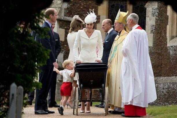 Prinsessa Charlotten ristiäisiä vietettiin heinäkuun ensimmäisenä sunnuntaina.