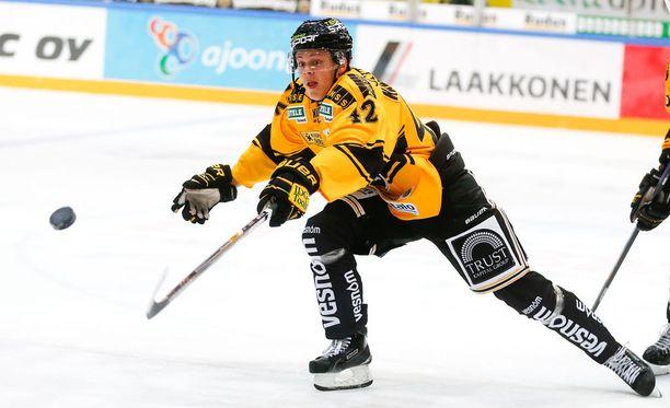 Kasperi Kapanen on nakuttanut neljä maalisyöttöä kahteen edelliseen peliin.