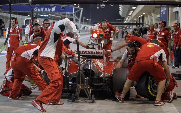 Ferrarilla ei taistella voitosta.