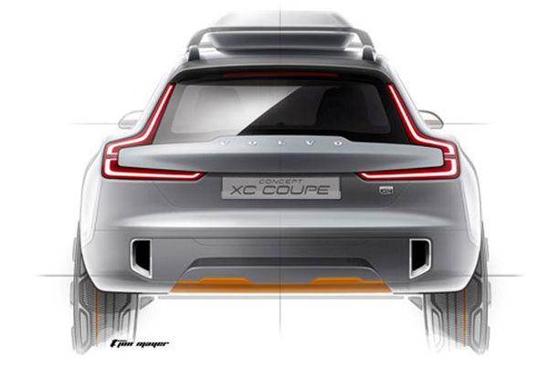 Vahvalinjainen, vahvat olkapäät, tämä on uutta Volvoa.