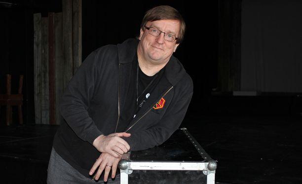 Kimmo Ahola on kiertänyt Nightwishin kanssa maailmaa yli kymmenen vuotta.