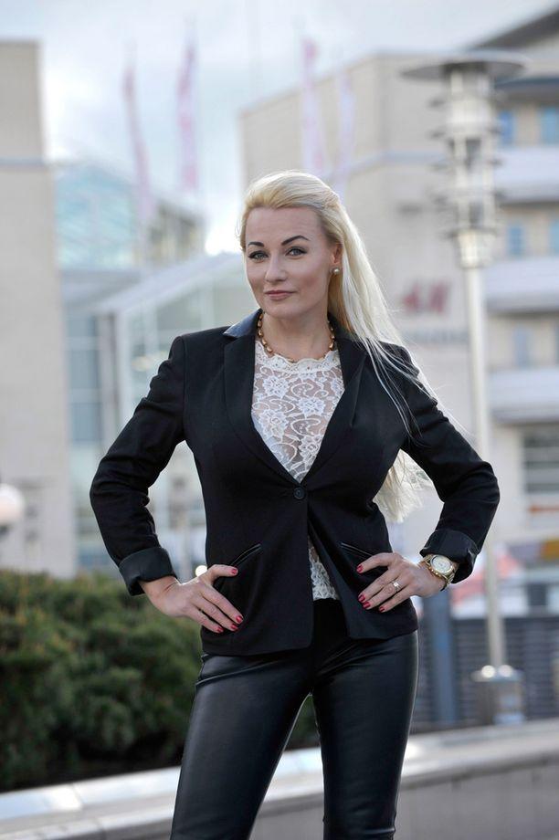 Marika Fingerroos on nykyisin Marika Tupila.