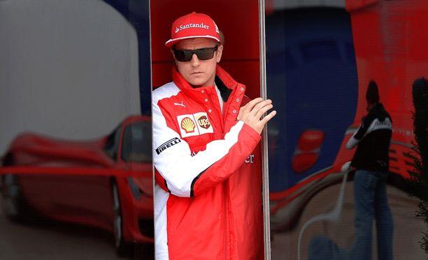 Kimi Räikkönen katsoo tulevaan luottavaisesti.
