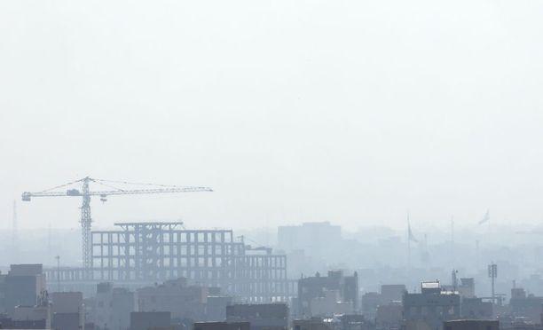 Hengitysilma Iranin pääkaupungissa on vaarallisen huono.