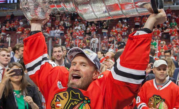 Kimmo Timoseen NHL-uraan ei uskottu.