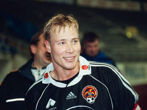 Petri Helinillä oli kaksoisrooli FC Jokereissa: pelaaja ja toimitusjohtaja.
