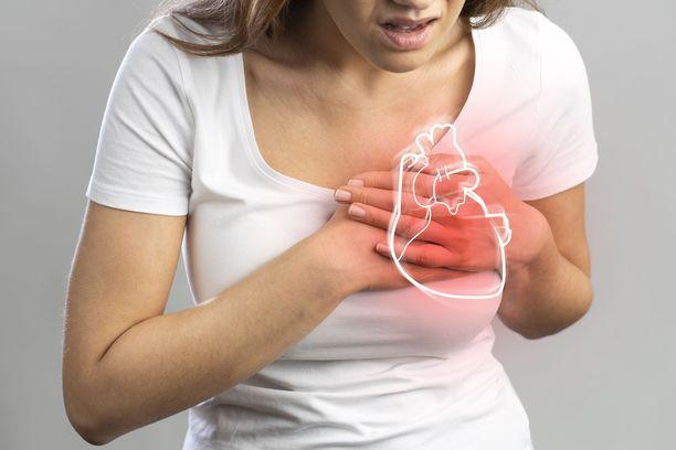 Koronapotilaan riski sairastua sydän- tai aivoinfarktiin oli yli 3 kertaa suurempi.