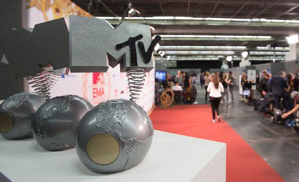 Vuonna 2012 MTV-gaala järjestettiin Saksan Frankfurtissa.
