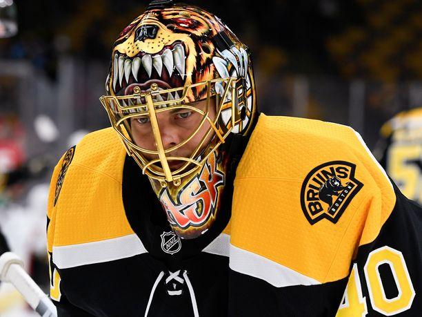 Tuukka Rask on viemässä Boston Bruinsia Stanley Cup -finaaleihin.