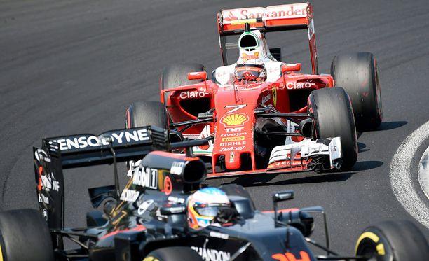 Kimi Räikkönen ajoi loistavan kisan Unkarissa.