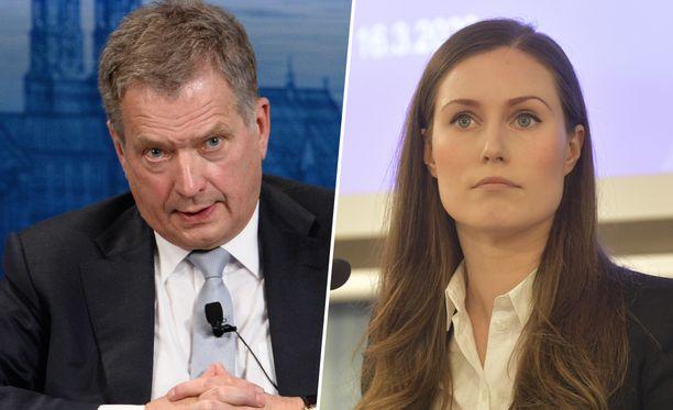 Pääministeri Marinin mukaan Navalnyi-kannanotossa tuli väärinkäsitys siitä, tiesikö presidentti Niinistö kannanotosta.
