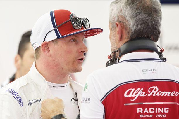 39-vuotias Kimi Räikkönen on aloittanut kauden hienosti.