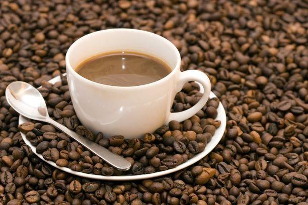 Kahvia voi juoda hyvällä mielellä.
