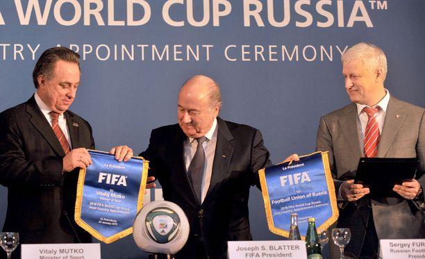 Venäjä ei välttämättä nähdäkään MM-jalkapalloa vuonna 2018.