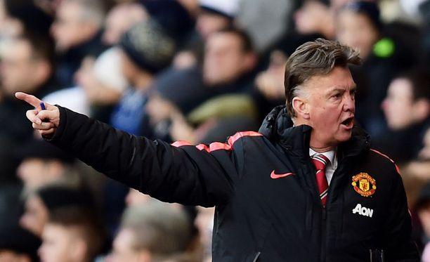 Louis van Gaal on nostanut Unitedin pahimmasta ahdingosta.