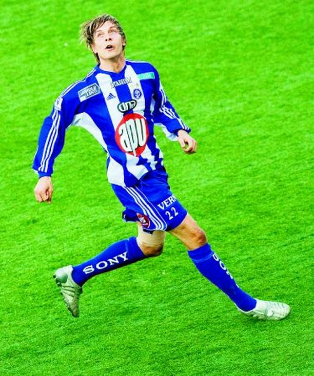 KATSE KAUAS Markus Halsti pelannee ensi kaudella Suomen rajojen ulkopuolella.