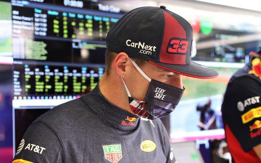 """Red Bullin leiristä kovaa tekstiä: Verstappen olisi voinut tapella voitosta – """"Bottaksen renkaisiin alkoi tulla ongelmia"""""""