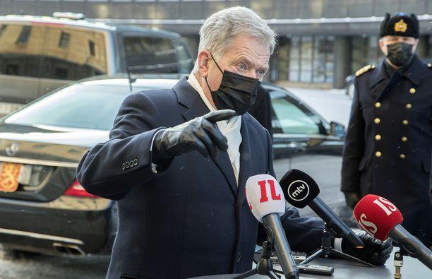 Presidentti Niinistö vieraili keskiviikkona Malmön kansainvälisessä holokaustifoorumissa.