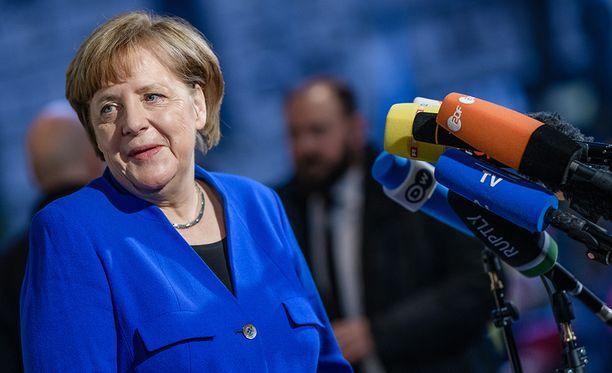 Angela Merkel toivoo voivansa jatkaa neljännen kauden liittokanslerina.