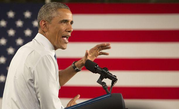 Presidentti Barack Obaman mukaan laman ja sodan suhteen maan pitää kääntää uusi sivu.