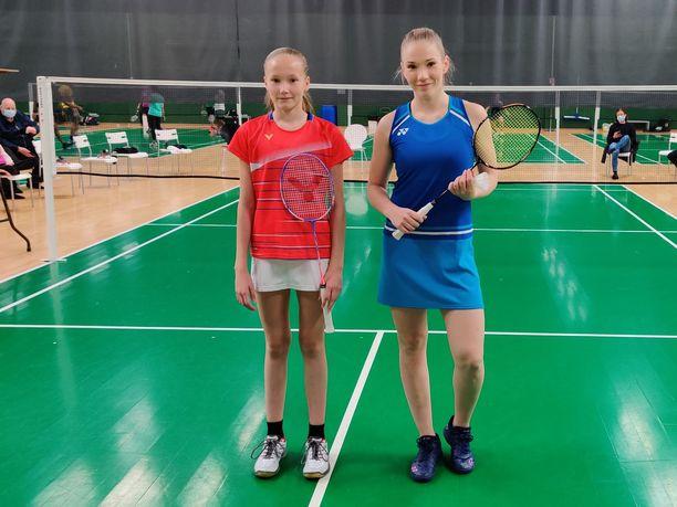 Nella Nyqvist ja Airi Mikkelä pelasivat perjantaina näytösottelun Helsingissä. Mikkelä ilmoitti uransa loppumisesta elokuussa.