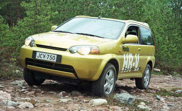 Honda H-RV: ykkönen ikäluokassa 11 vuotta, joka on suomalaisten autojen keski-ikä.