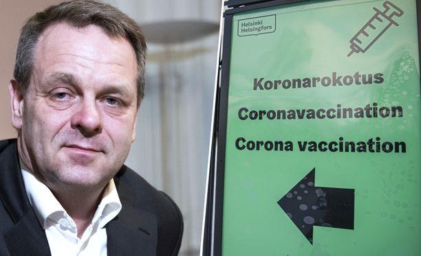 Helsingin pormestari Jan Vapaavuori kertoo Helsingin koronartilanteesta.