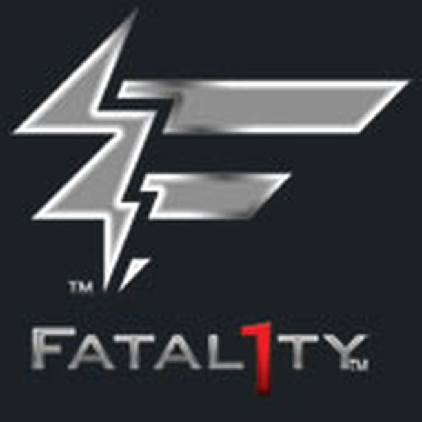 Fatal1ty tunnetaan tästä logosta.
