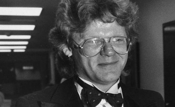 Järvisen perikunta voitti kiistan levy-yhtiötä vastaan. Kuva vuodelta 1987.