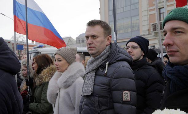 Aleksei Navalnyi on otettu kiinni Moskovassa.