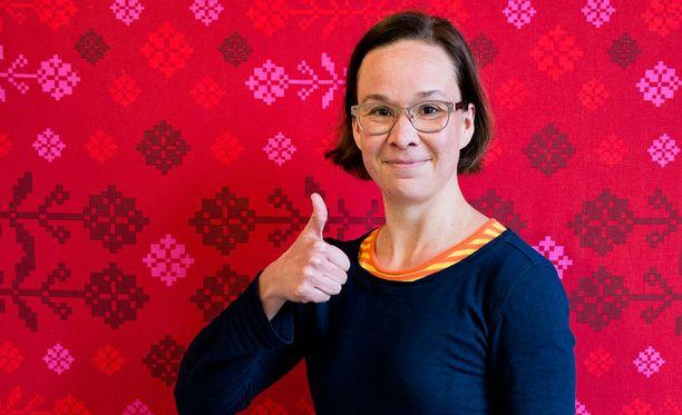 Rosa Meriläinen seurustelee toimittaja Tuomas Murajan kanssa.