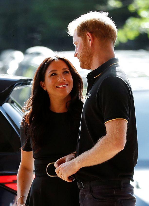 Prinssi Harry kihlasi rakkaansa syksyllä 2017.