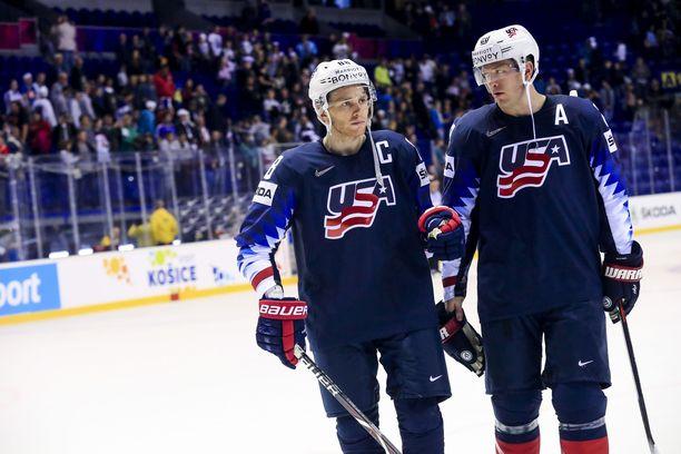 Ryan Suterin ja Patrick Kanen viime kauden ansiot olivat yhteensä 18 miljoonaa dollaria.
