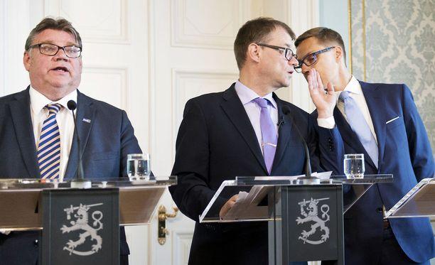 Ulkoministeri Soini ja pääministeri Sipilä ovat kommentoineet aihetta tavalla, joka herättää kysymyksen ristiriidasta.