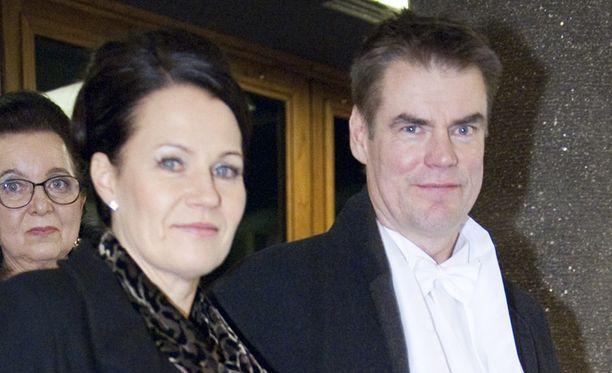 Leena ja Raimo Helminen.