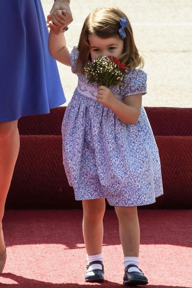 Prinsessa Charlotte on innostunut tanssimisesta.