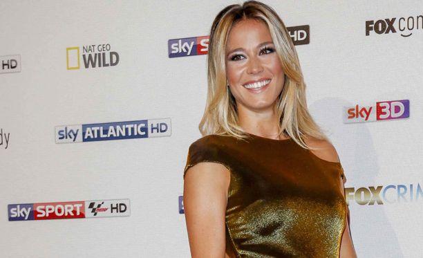 Diletta Leotta juontaa työkseen muun muassa Sky Sport Italian Serie B -studiolähetyksiä.