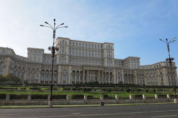 Edulliseen Bukarestiin pääse Helsingistä suorilla lennoilla.
