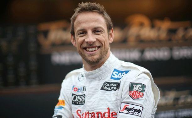 Jenson Button ilahdutti ihmisiä.