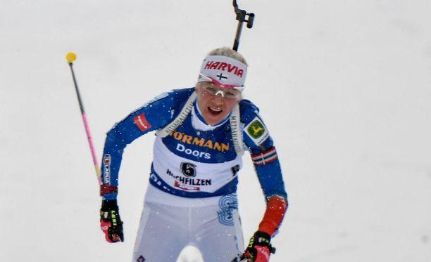 Kaisa Mäkäräinen koki vastoinkäymisen ennen olympialaisia.