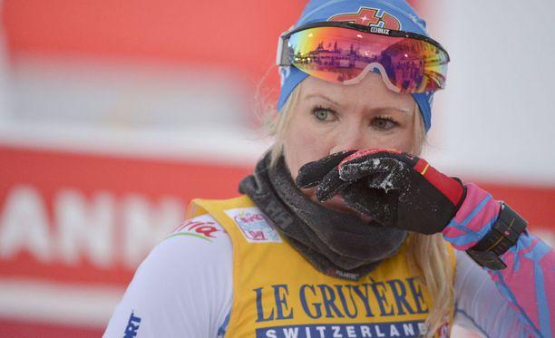 Riitta-Liisa Roponen on sairauslomalla.