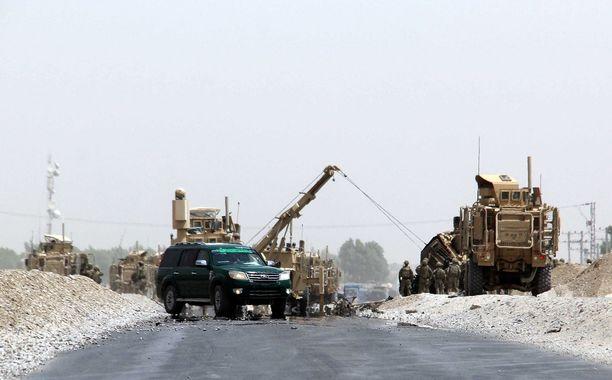Isku tapahtui Kandaharin lentokentän läheisyydessä eteläisessä Afganistanissa.
