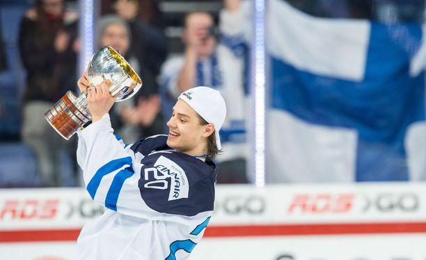Sebastian Aho johti Suomen tehoketjua.