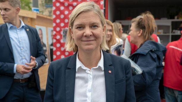 Ruotsin valtiovarainministeri, sosiaalidemokraatti Magdalena Andersson pitää mahdollista, että tulevassa hallituskokoonpanossa rikotaan perinteisiä blokkirajoja.
